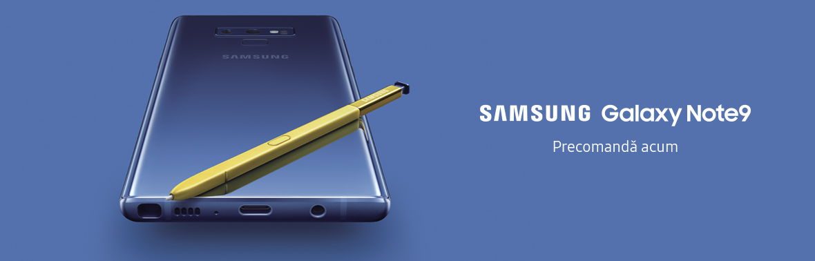Precomanda Galaxy Note 9
