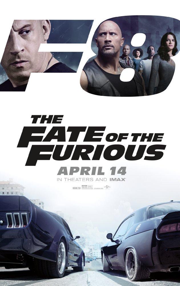 Poster Furious 8 - furios si iute