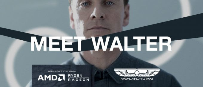 Walter (Alien: Convenant) - powered by AMD, RADEON