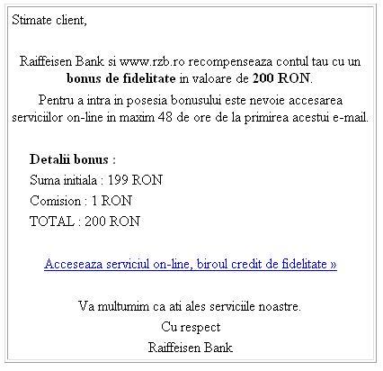 Email-ul primit