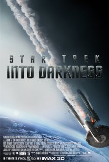 Afisul filmului Star Trek into the darkness