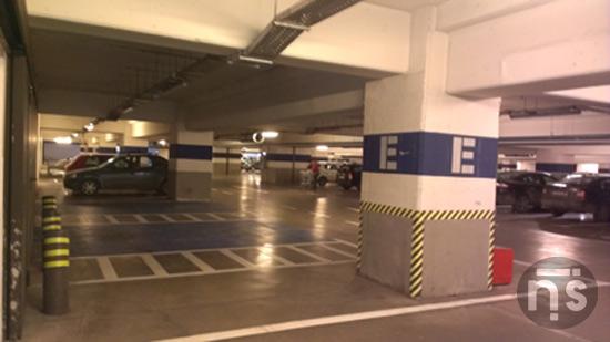 Imaginea 2 de la parcarea albastra Iulius Mall Timisoara