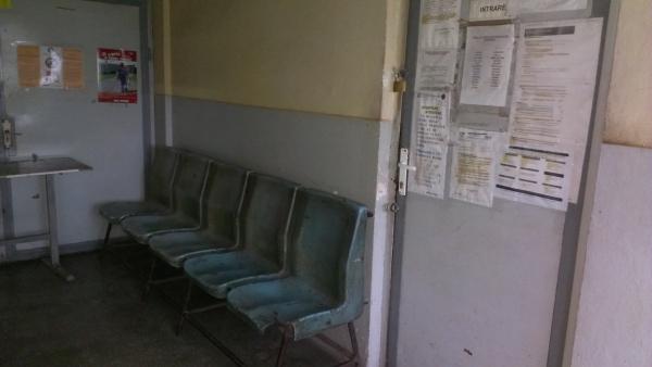 Sala de asteptare colete externe Timisoara