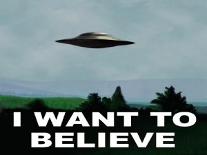 I want to belive - X-Files - Fox Mulder
