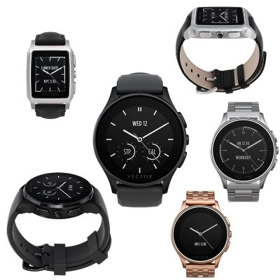 Vector Watch Luna si Meridian
